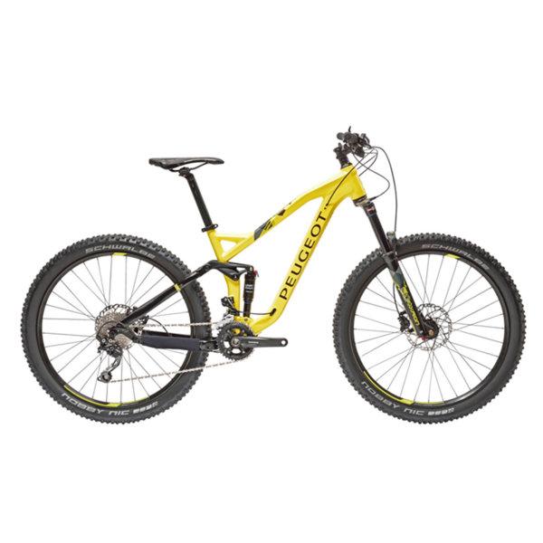 M02 FS 27.5+ Deore 20 универсален Жълт/черен